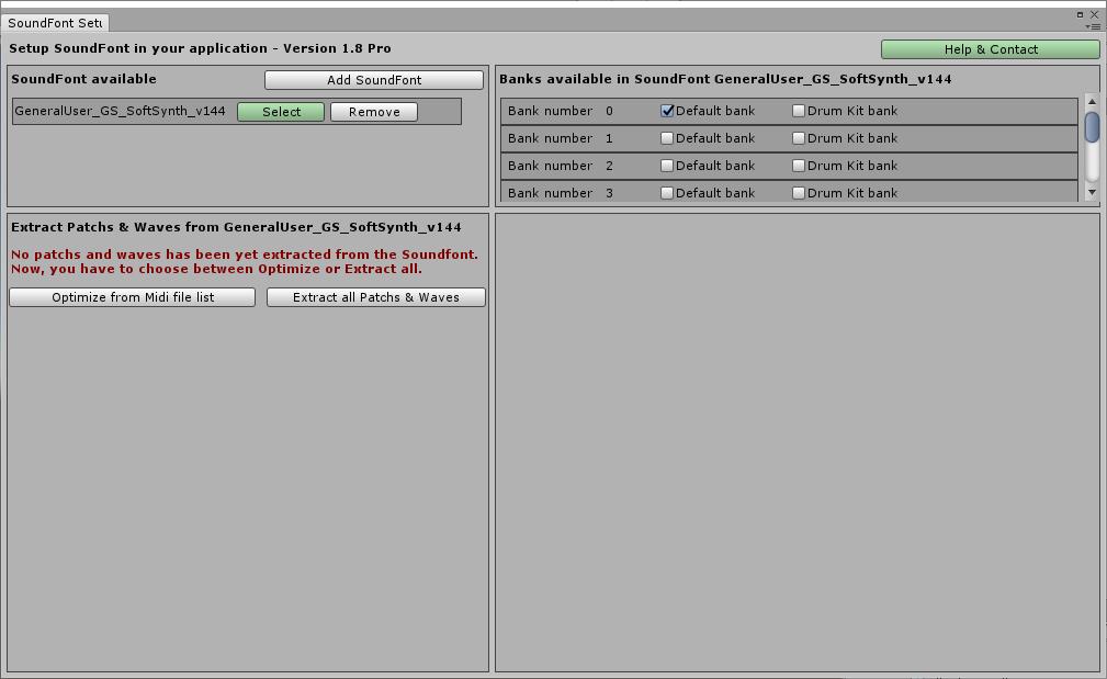 Setup MPTK V1 - Add SoundFonts - Blog Thierry Bachmann