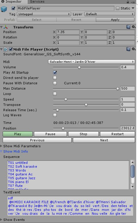 Midi Player Tool Kit V2 Available ! - Unity Forum